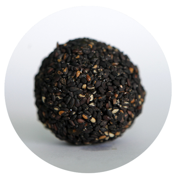 Palm jaggery Black Seasame Sweet ball